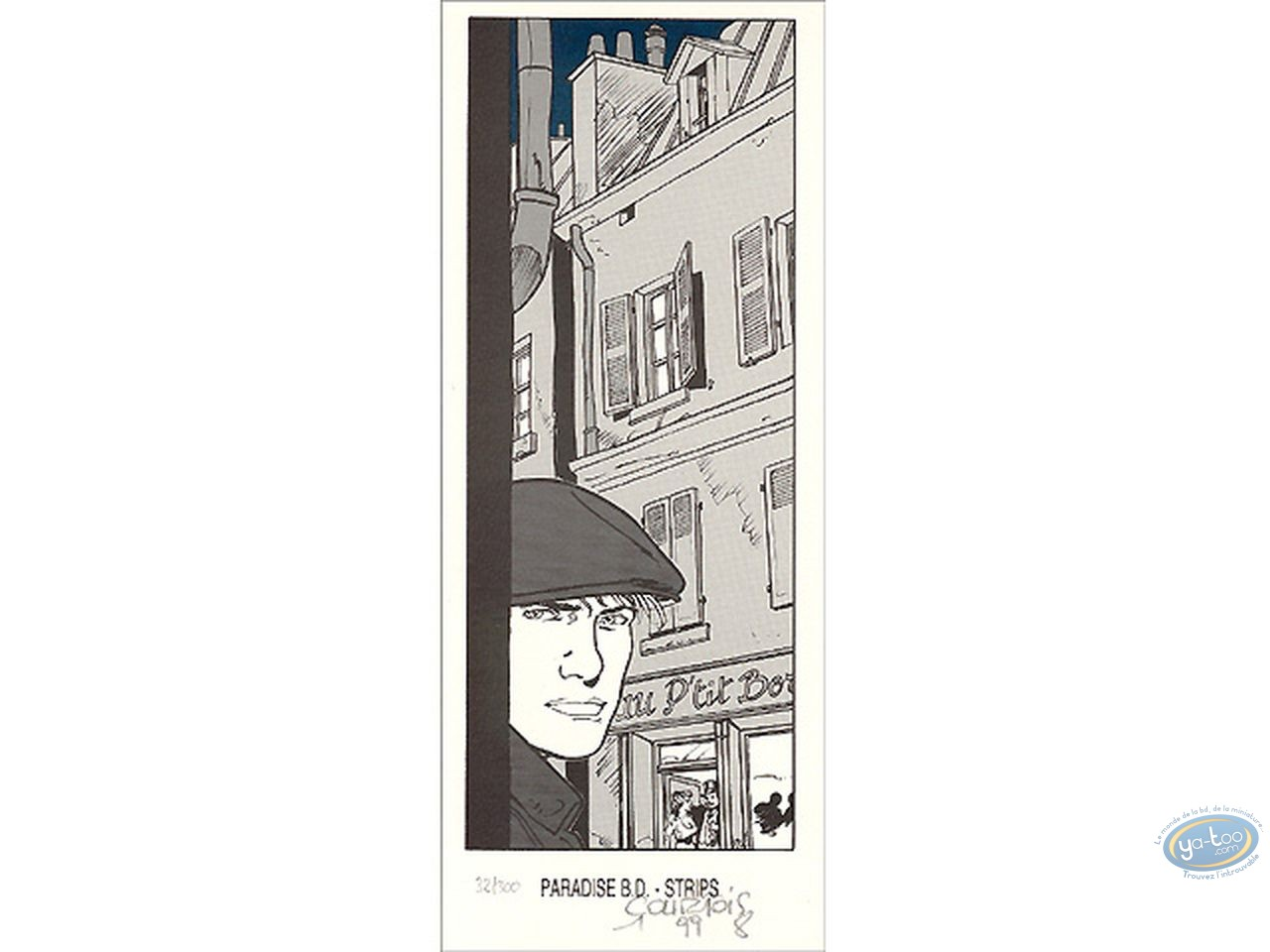 Bookplate Offset, Louis Ferchot : In the Street
