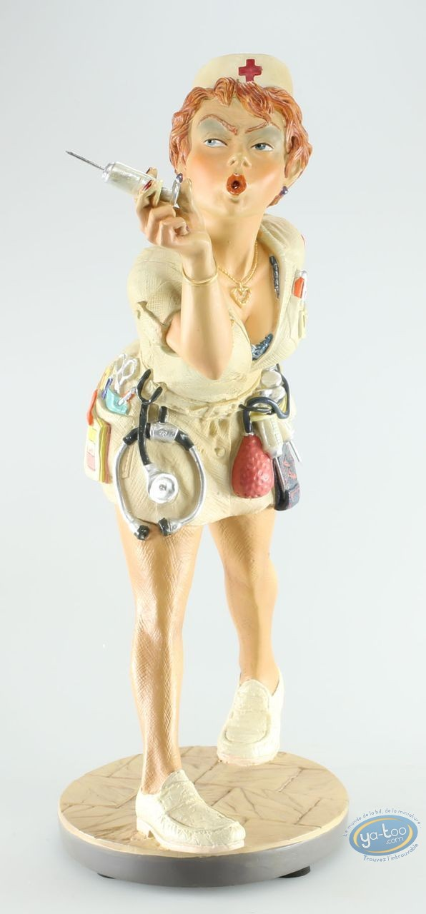 Resin Statuette, Profisti : Profisti, L'infirmère