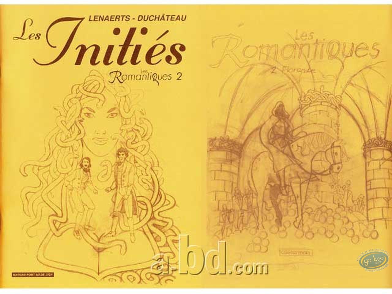 Sketchbook, Romantiques (Les) : Les Initiés