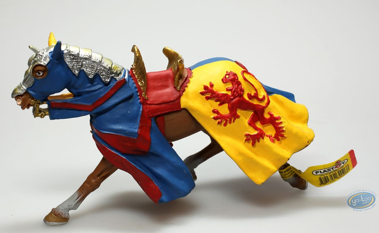 Plastic Figurine, Horse with lion's dress