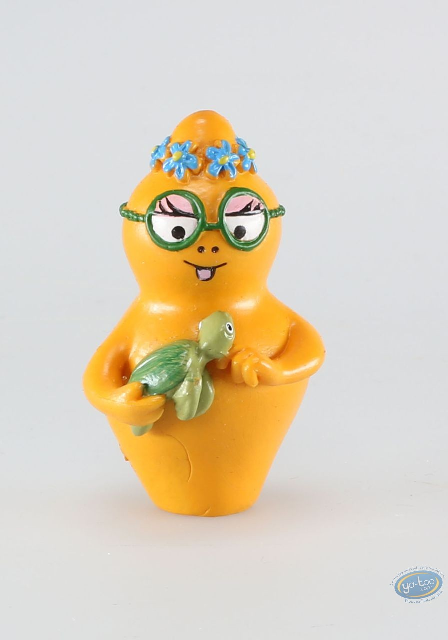 Plastic Figurine, Barbapapa : Barbotine and her turtle