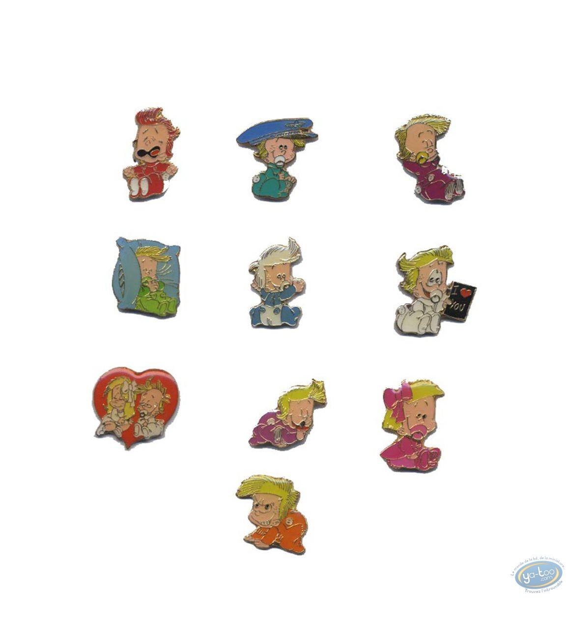 Pin's, BB de BD : Pin's, Set of 10 pin's
