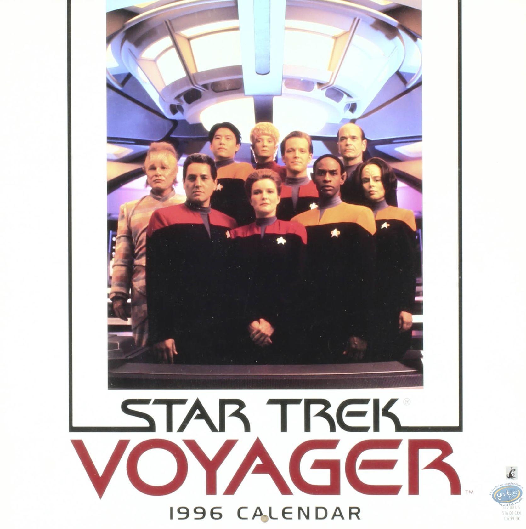 Office supply, Star Trek : Calendar Star Trek 1996 - Voyager