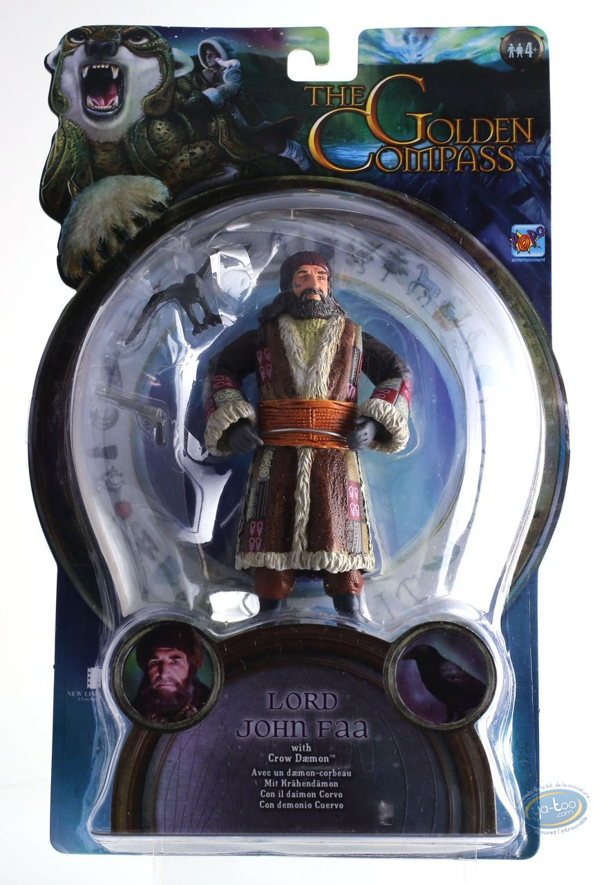 Action Figure, Golden Compass (The) : Lord John Faa