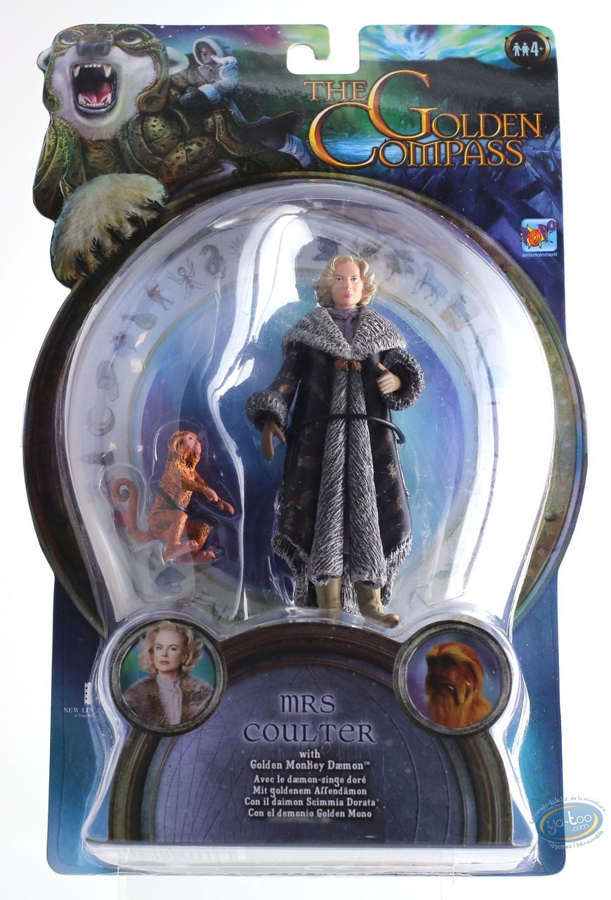 Action Figure, Golden Compass (The) : Mrs Coulter