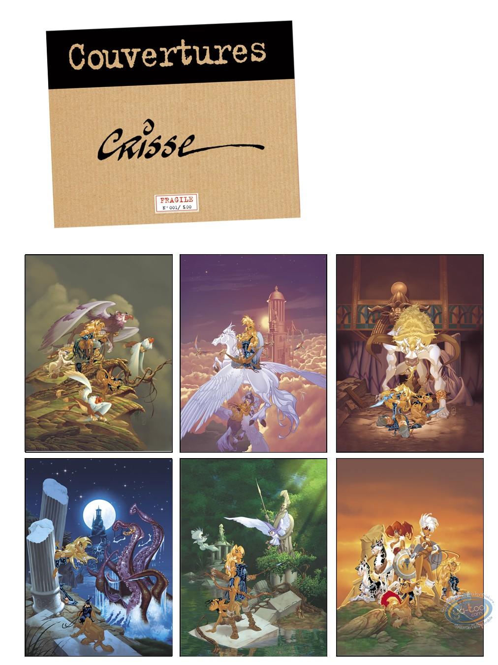 Portfolio, Atalante : Crisse, Covers