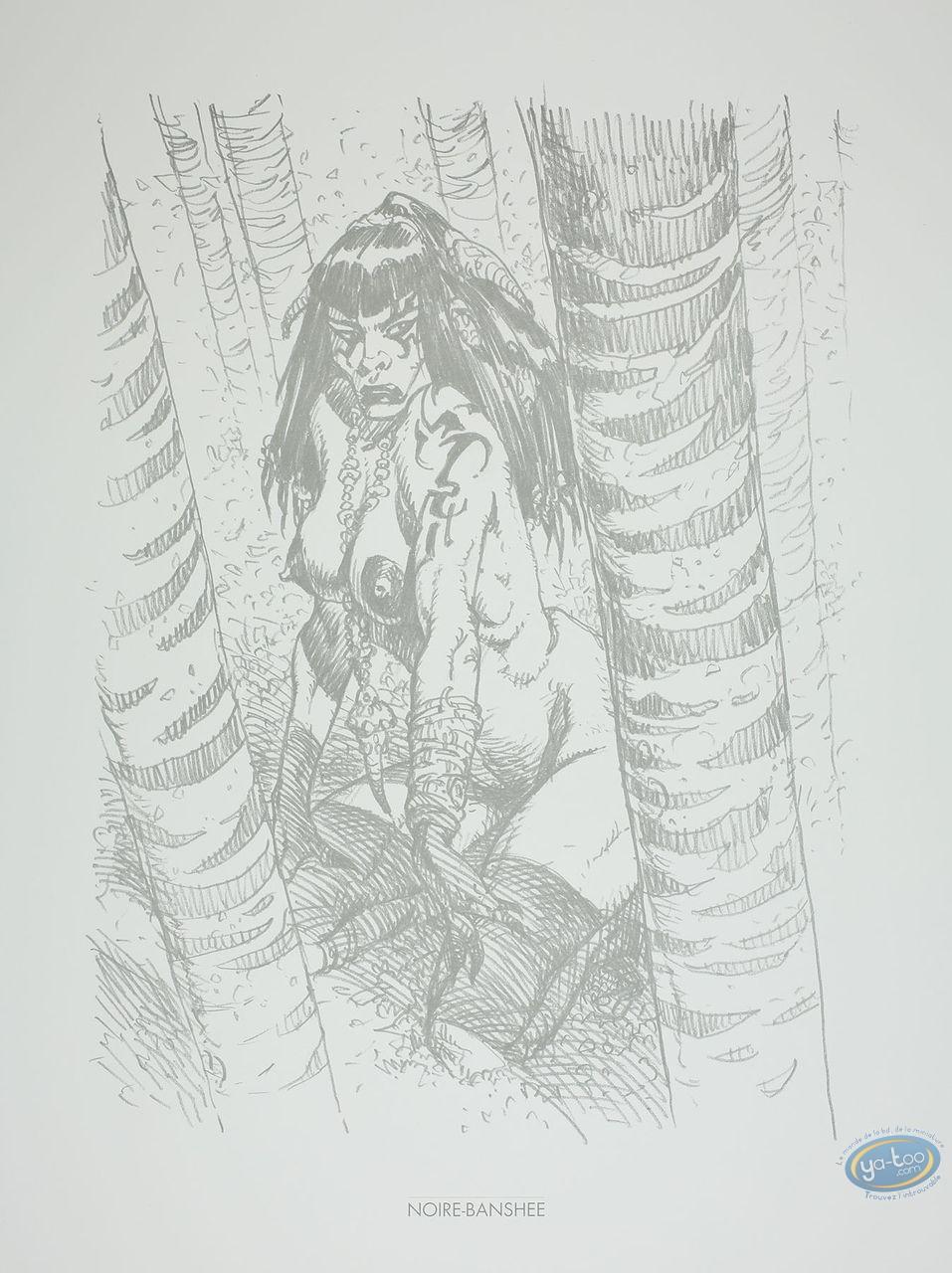 Offset Print, Amazones : Noire-Banshee