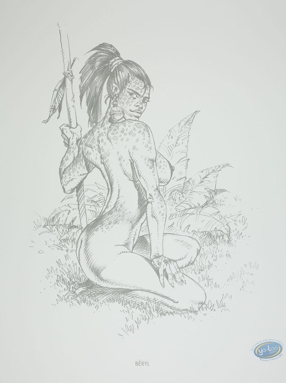 Offset Print, Amazones : Béryl
