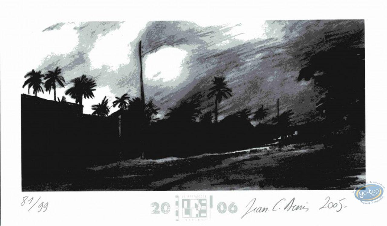 Bookplate Offset, Belem : Night