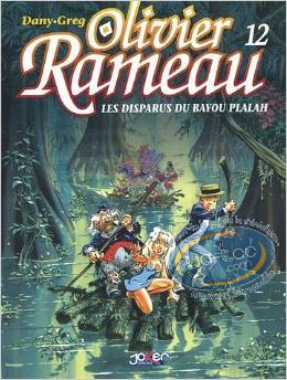 Reduced price European comic books, Olivier Rameau : Les disparus du Bayou Plalah