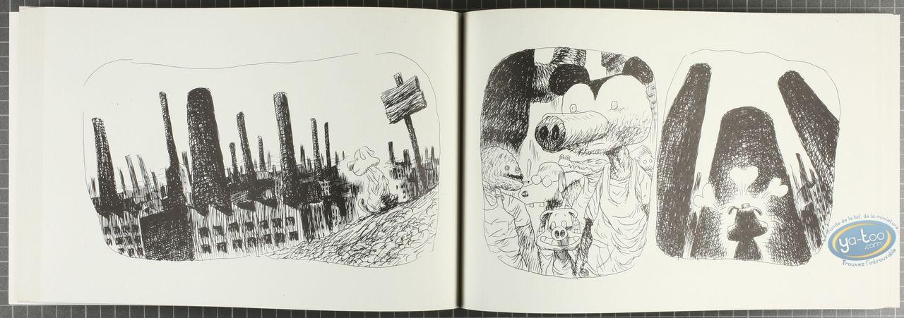 Listed European Comic Books, Ex-Abrupto : Ex Abrupto (+ bookplate)