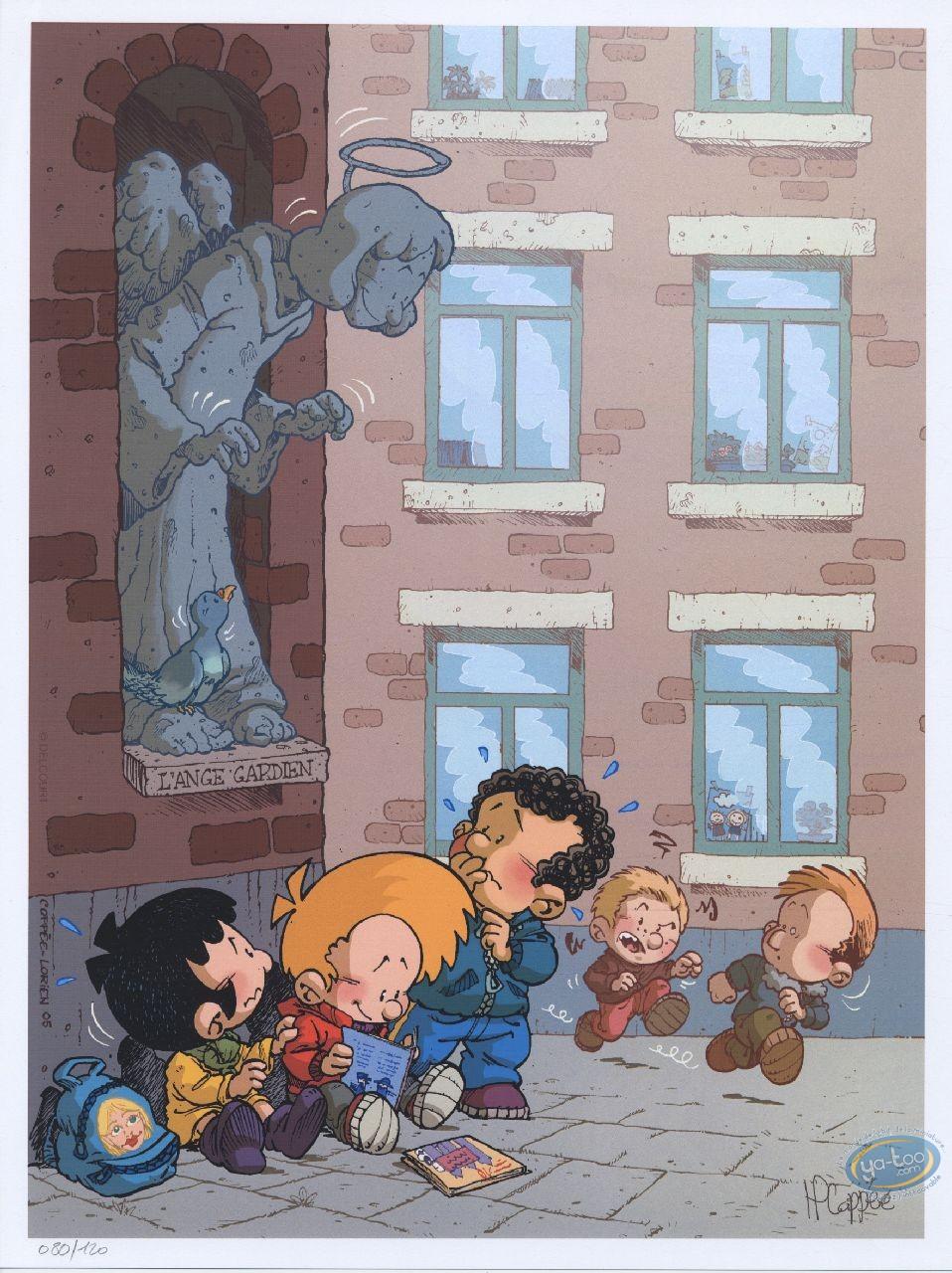 Offset Print, Blagues de Toto (Les) : Les Blagues de Toto, The Angel is watching