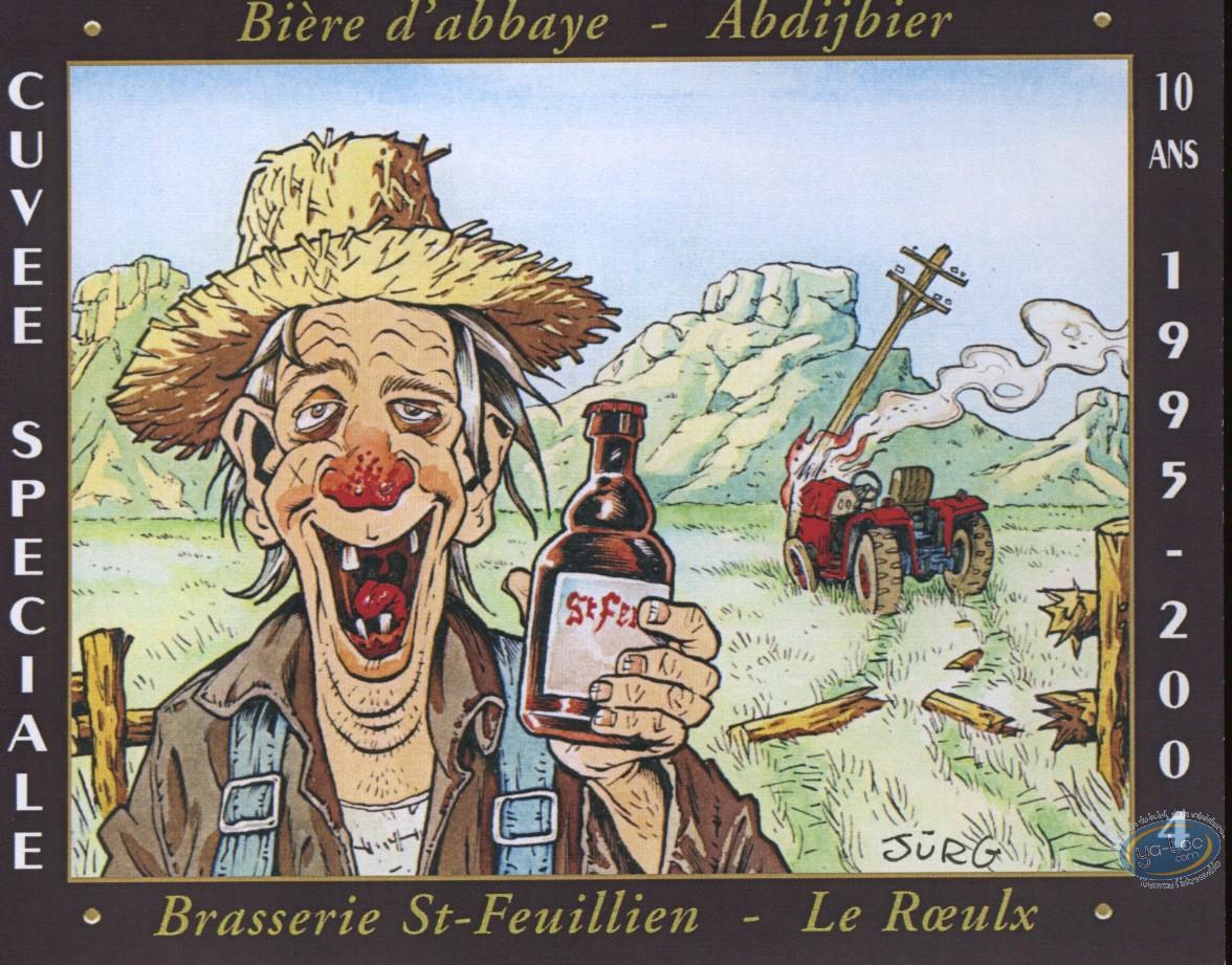 Wine Label, Peasant & beer
