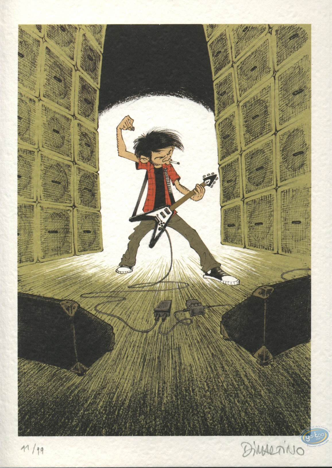 Bookplate Offset, Eddy l'angoisse : Rock !