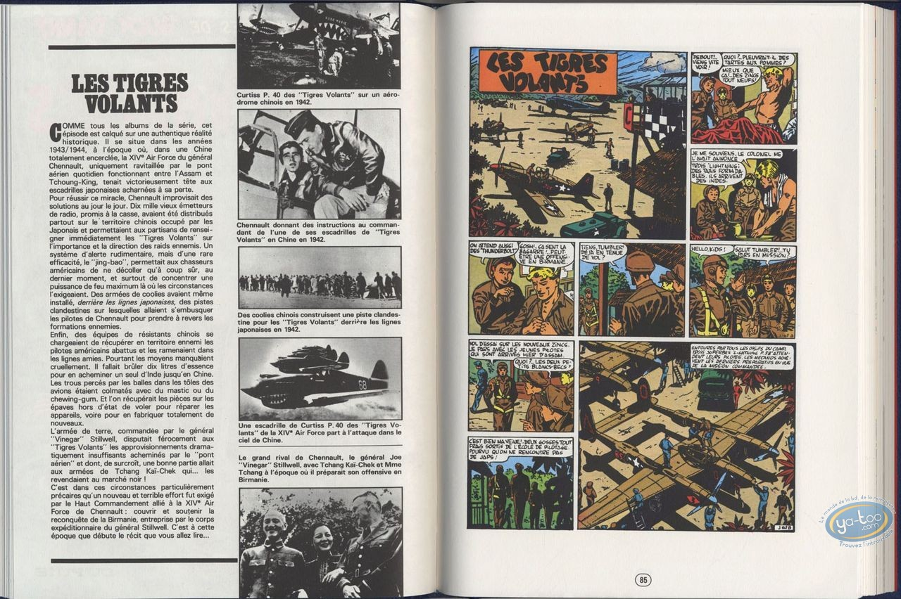 Deluxe Edition, Buck Danny : Complete edition 1