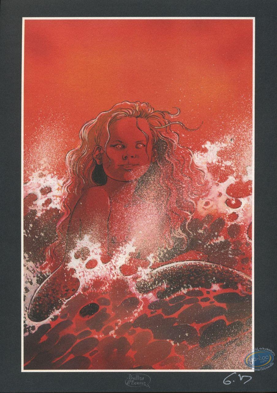 Bookplate Offset, Mermaid