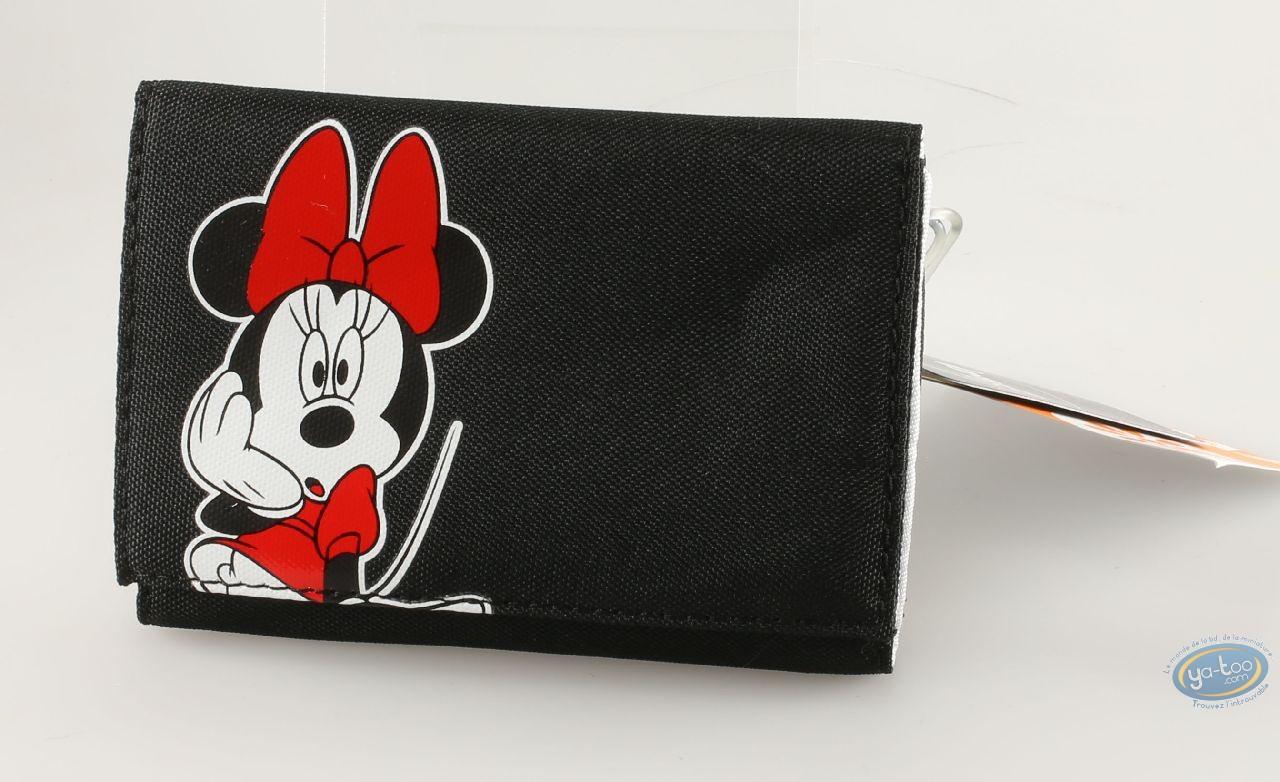 Luggage, Mickey Mouse : Minnie black wallet , Disney