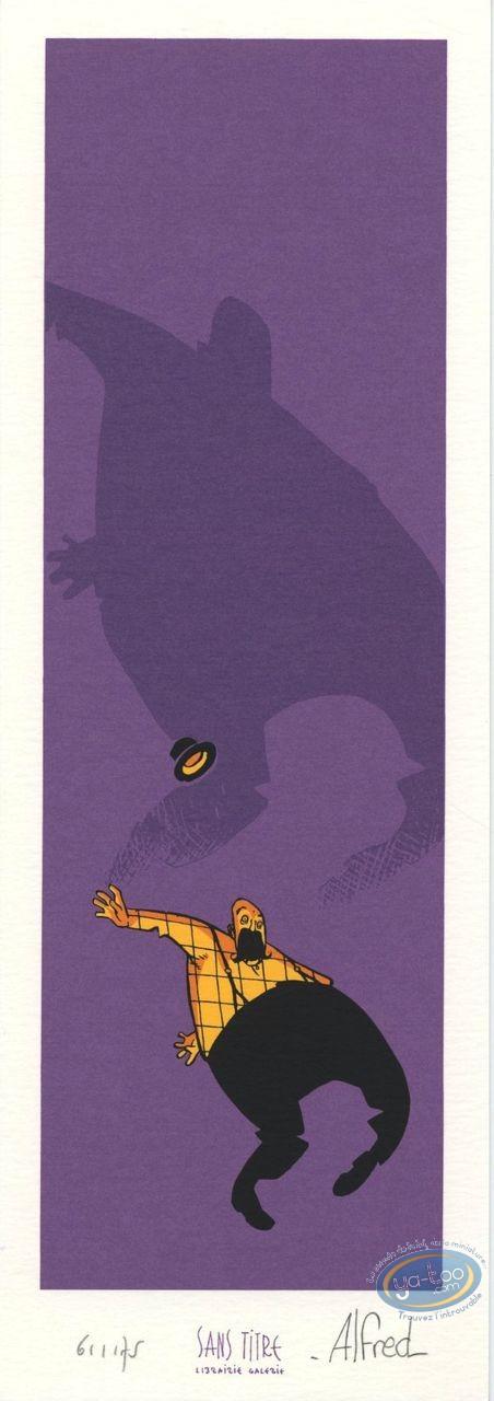 Bookplate Serigraph, Abraxas : Fall