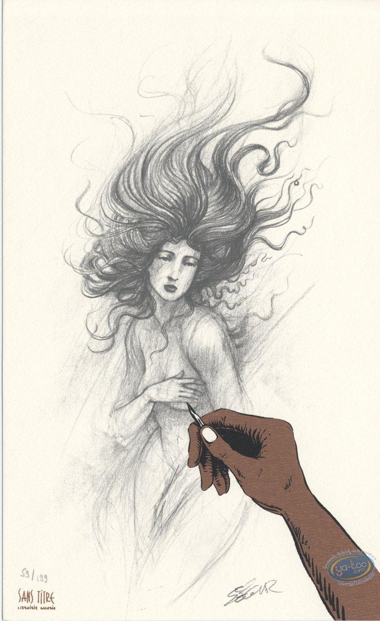 Bookplate Offset, Roi des Méduses (Le) : Sketch
