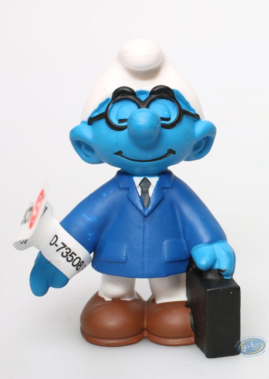 Plastic Figurine, Smurfs (The) : Salesperson smurf