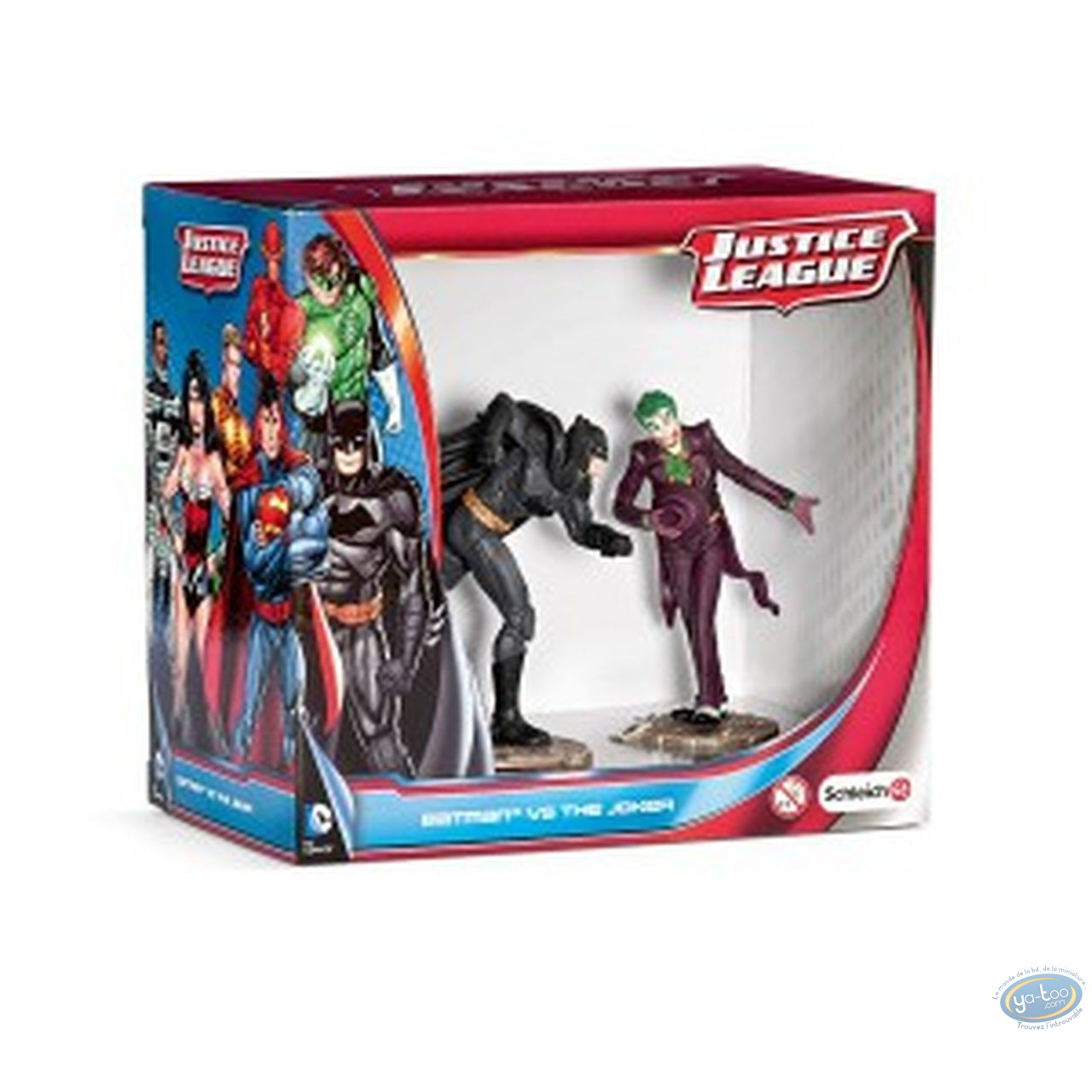PVC Statuette, Superman : Scenery pack Batman Vs Joker