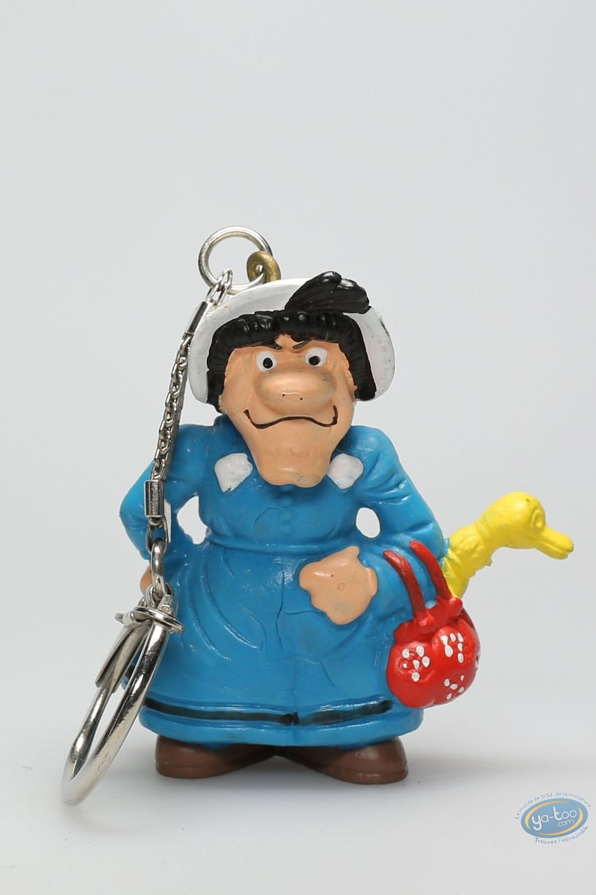 Plastic Figurine, Lucky Luke : Keyring Ma Dalton