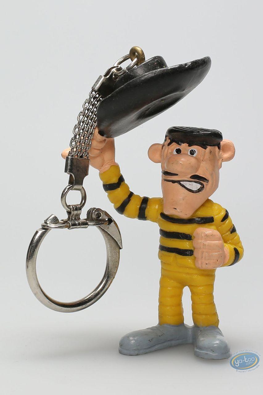 Plastic Figurine, Lucky Luke : Keyring Joe Dalton Hello