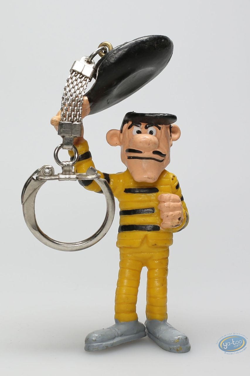 Plastic Figurine, Lucky Luke : Keyring William Dalton Hello