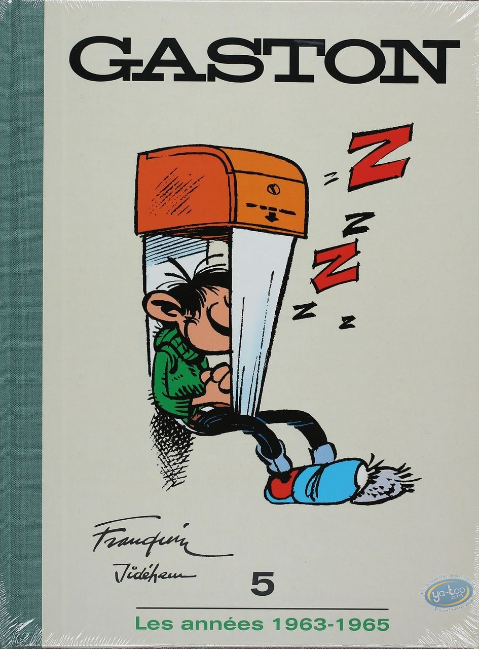 Deluxe Edition, Gaston Lagaffe : Collection 10 books for 'le Soir'