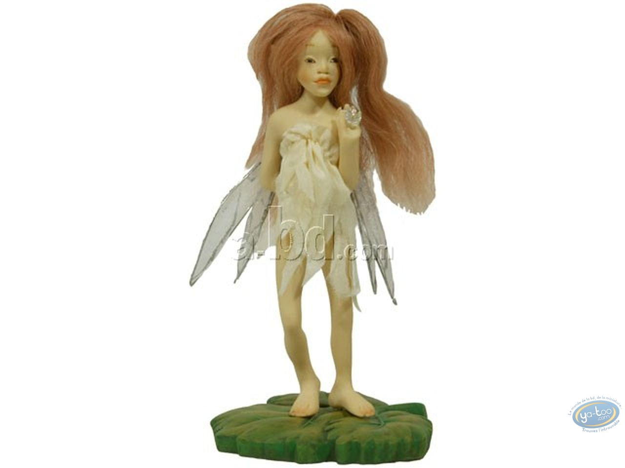 Resin Statuette, World of Froud : Faery of the Flowers
