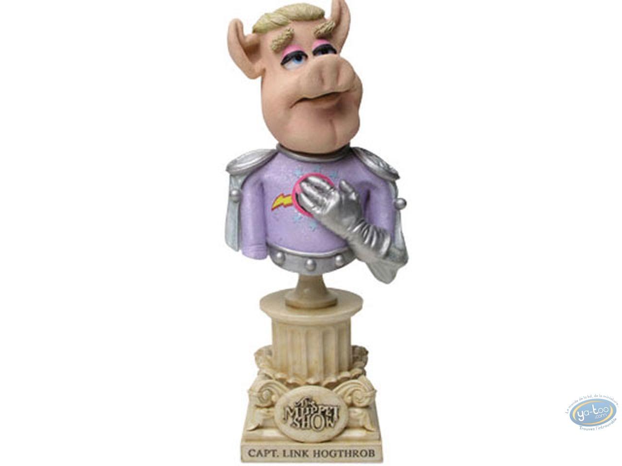 Resin Statuette, Muppet Show (Le) : Capt. Link Hoghtrob bust