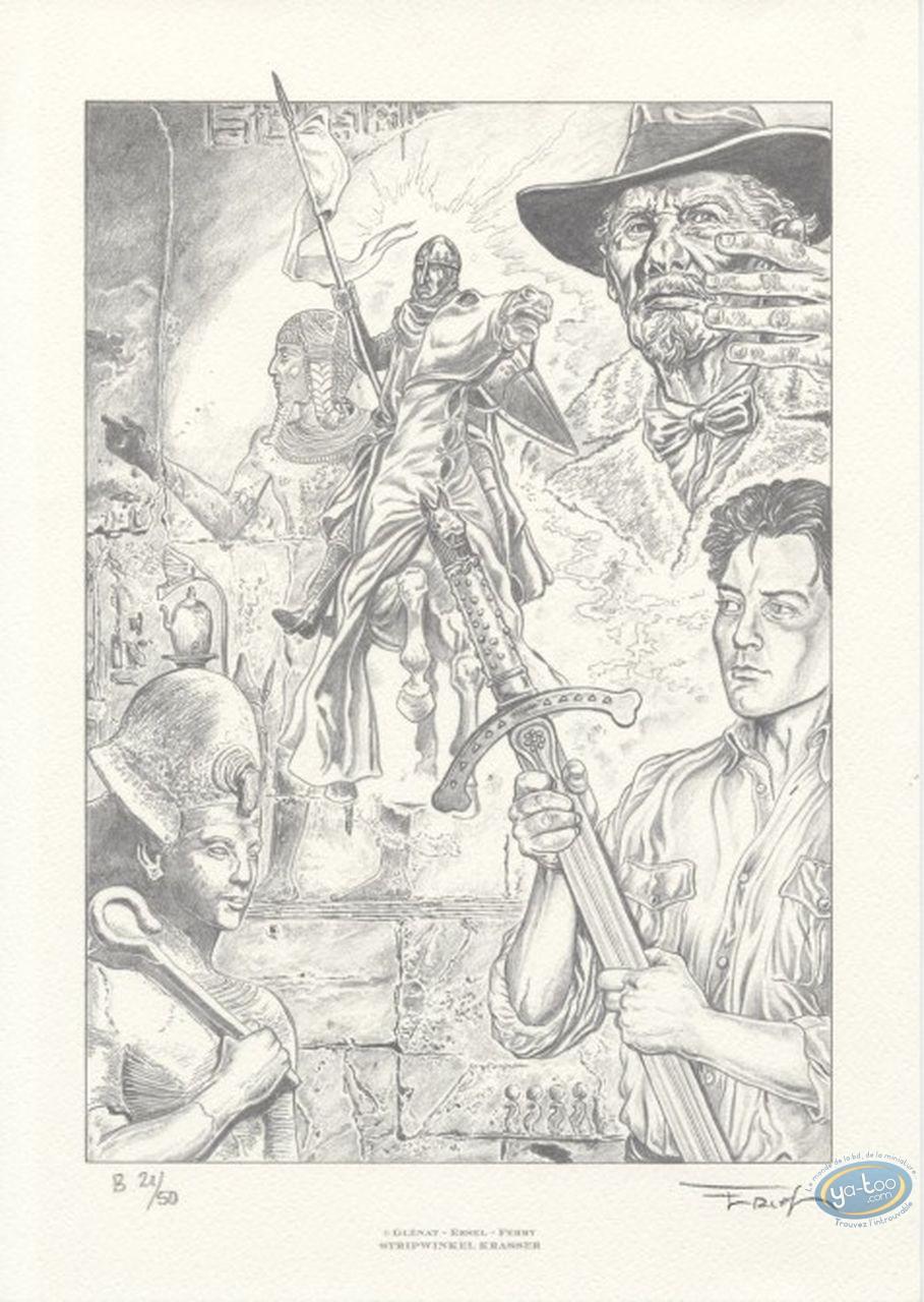 Offset Print, Gardien de la Lance (Le) : Ersel, Le gardien de la lance