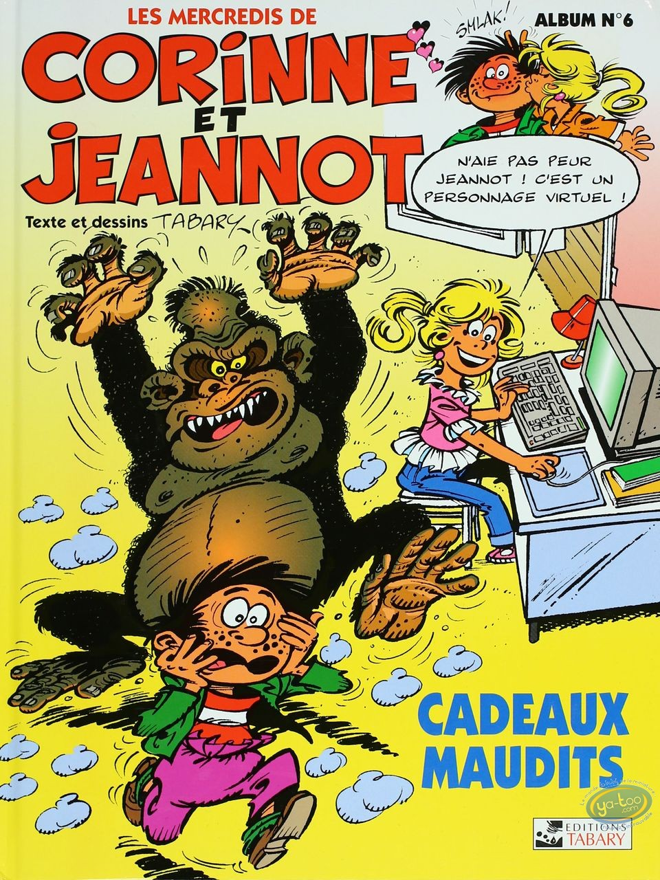 Reduced price European comic books, Corinne et Jeannot : Cursed presents - Every Wednesday of Corinne and Jeannot Tome 6