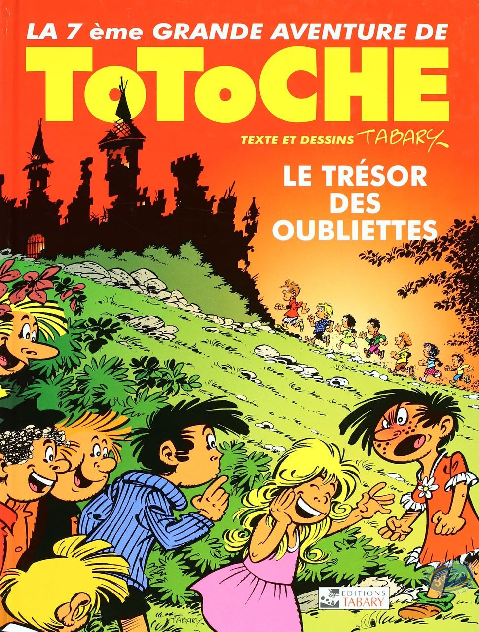 Reduced price European comic books, Totoche : The treasure of dungeon - The great adventures of Totoche Volume 7