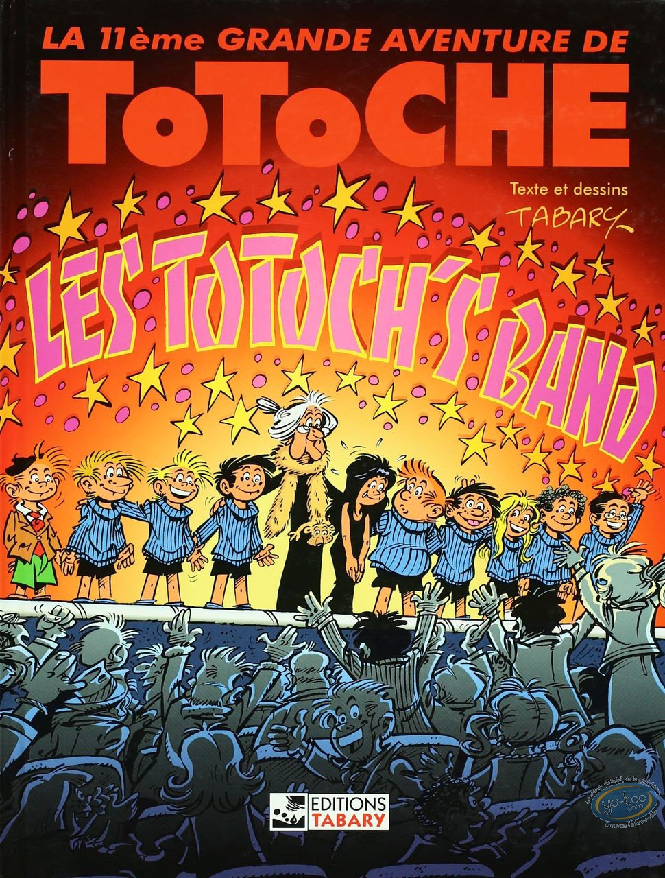 Reduced price European comic books, Totoche : The Totoch's band - The great adventures of Totoche Volume 11