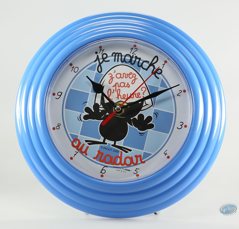 Clocks & Watches, Calimero : Mug, Calimero : Mug with cover
