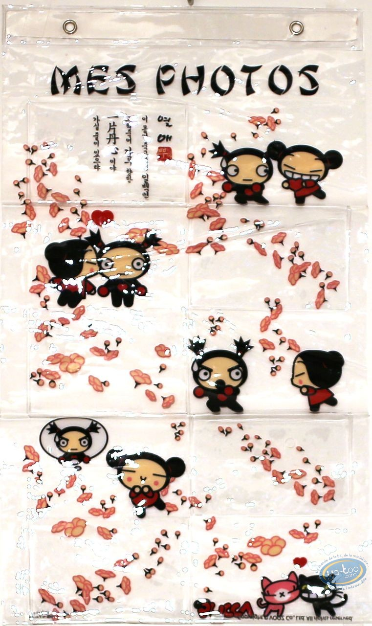 Deco, Pucca : PVC photo frame : Pucca
