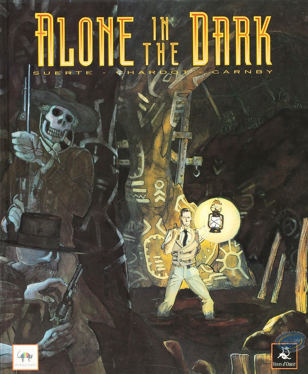 Used European Comic Books, Alone in the dark : Alone in the Dark