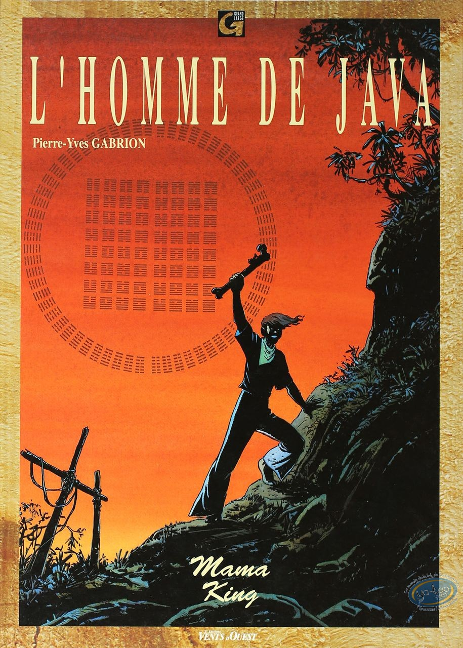 Listed European Comic Books, Homme de Java (L') : Mama King