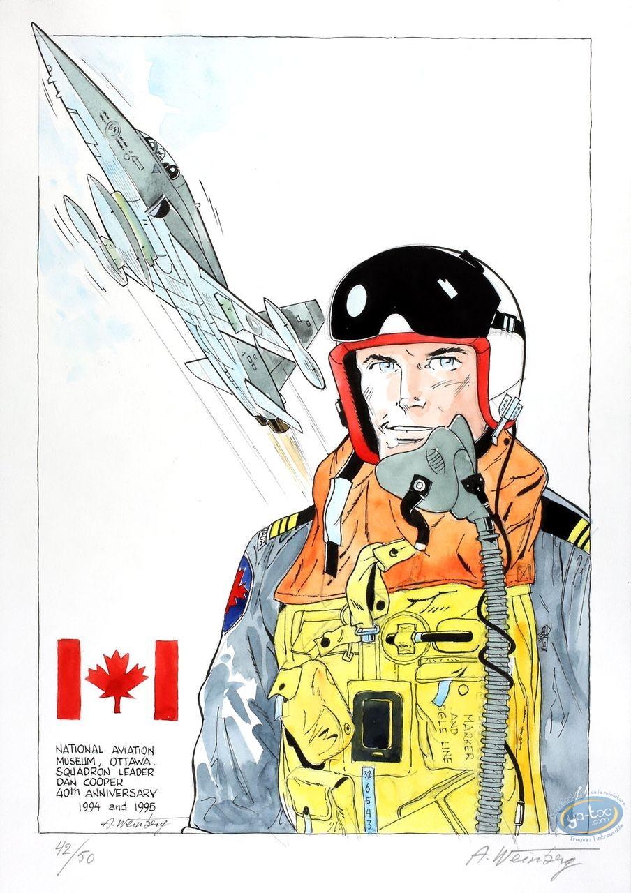 Aquarelle, Dan Cooper : Dan Cooper & Jet 2