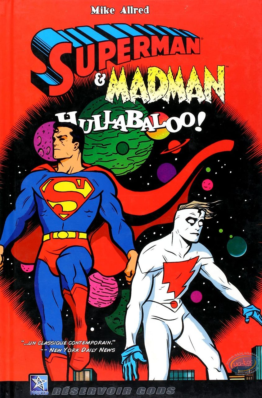 Used European Comic Books, Superman : Hullabaloo!
