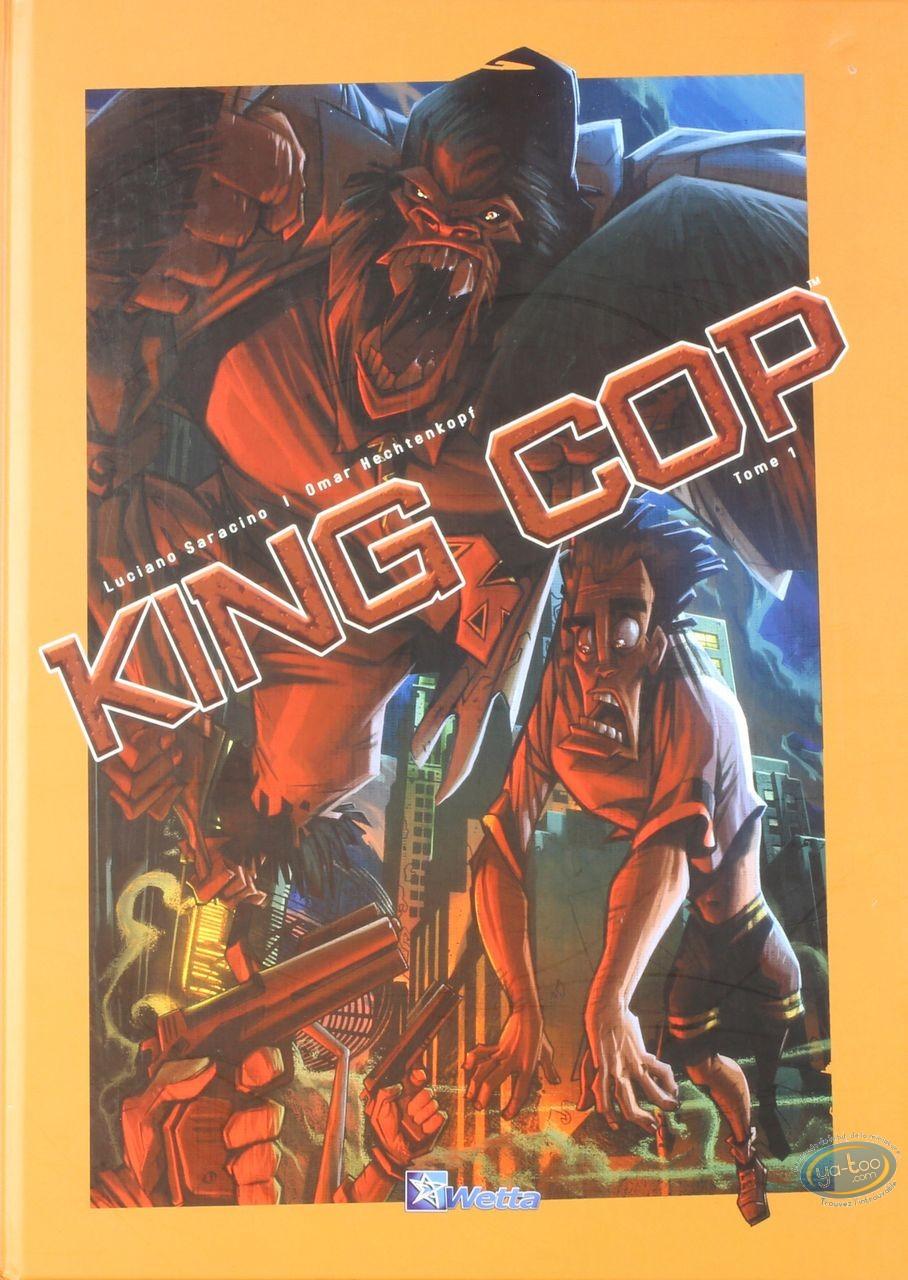 Used European Comic Books, King cop : King cop
