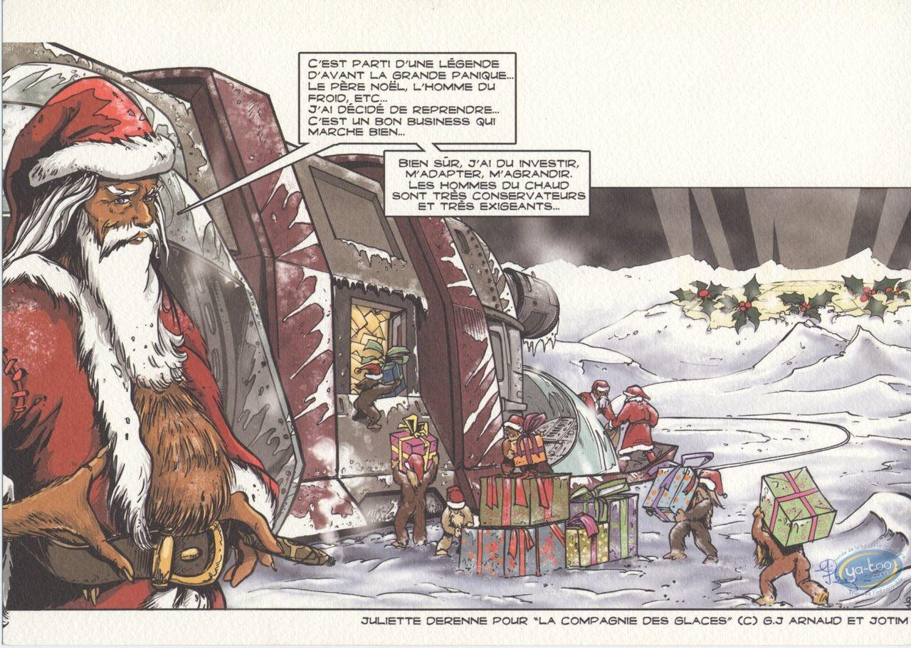 Bookplate Offset, Compagnie des Glaces (La) : Santa Claus