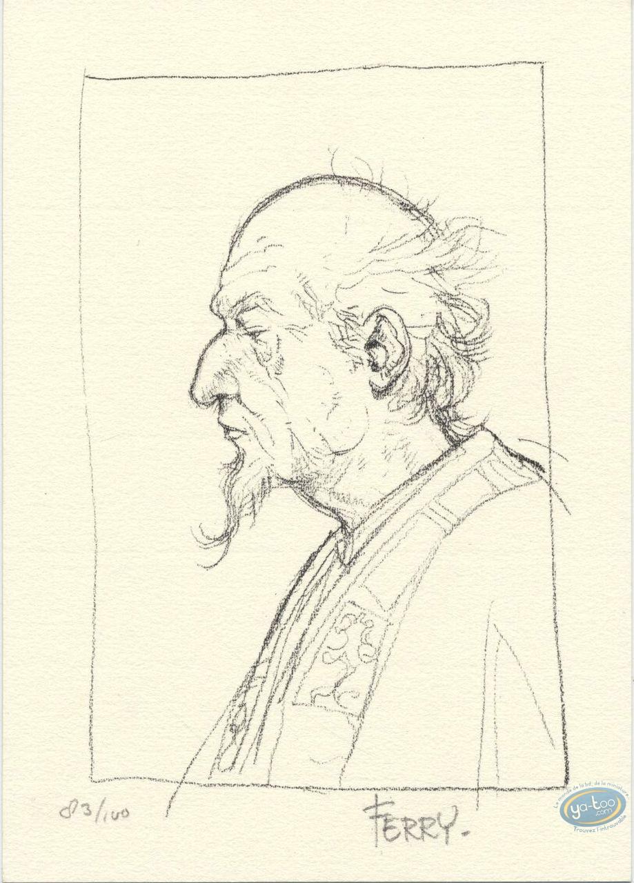 Bookplate Offset, Chroniques de Panchrysia (Les) : Sketch Portrait