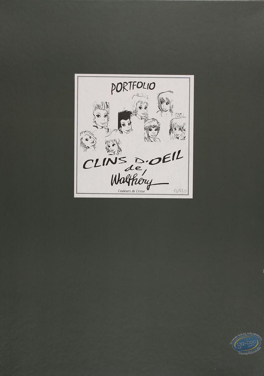 Portfolio, Pin-Up : Clins d'OEil de Walthéry