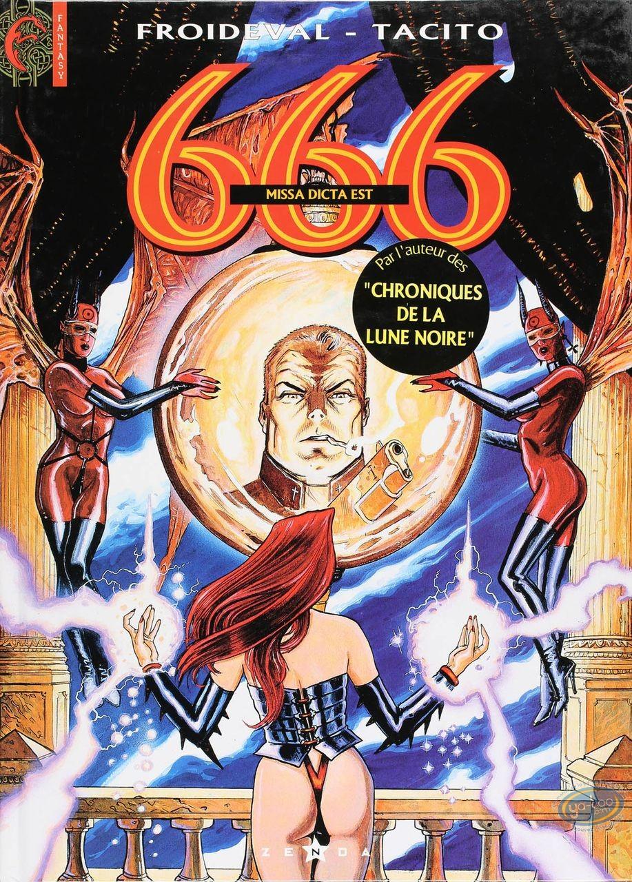 Listed European Comic Books, 666 : Missa Dicat est (good condition)