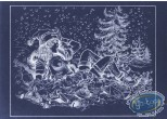 Offset Print, Luc Orient : Laura Christmas Tree (negative)