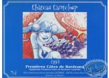 Wine Label, Maîtres Cartographes (Les) : Woman - Chateau Canteloup 1993