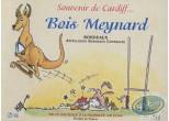 Wine Label, Souvenir de Cardiff ... - Bois Meynard