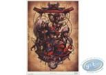 Bookplate Offset, Miroir des Alices (Le) : Wall Clock